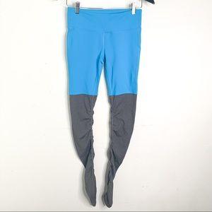 ALO Yoga Blue Grey Goddess Workout Leggings